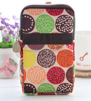 Wholesale colourful fashion custom handbag cell phone case with long shoulder strap