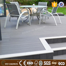 raw wood substitutes composite decking wpc flooring