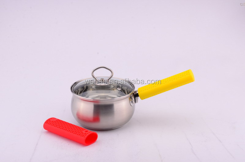good quality silicone tableware pot handle cover