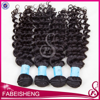 10-30inch Unprocessed Hair Deep Wave Curly Wefts Brazilian Malaysian Peruvian Indian Virgin Human Hair