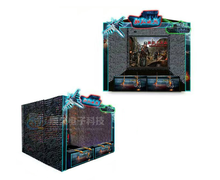 Original design shooting simulation real gun arcade game Warm Blood War Soul 3D simulator shooting game machine for sale