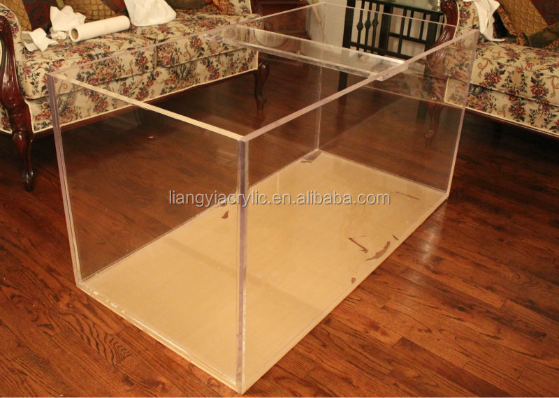 Heavy duty durable 120 Gallon Acrylic Fish Tank