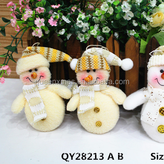 Mini Snowmen Blank christmas tree ornament,chinese christmas ornament in bulk