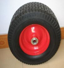 16 inch wheelbarrow wheel 3.50 6 with Metal Rim