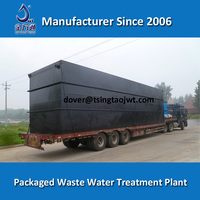 Domestic Mini Waste Water Treatment Plant