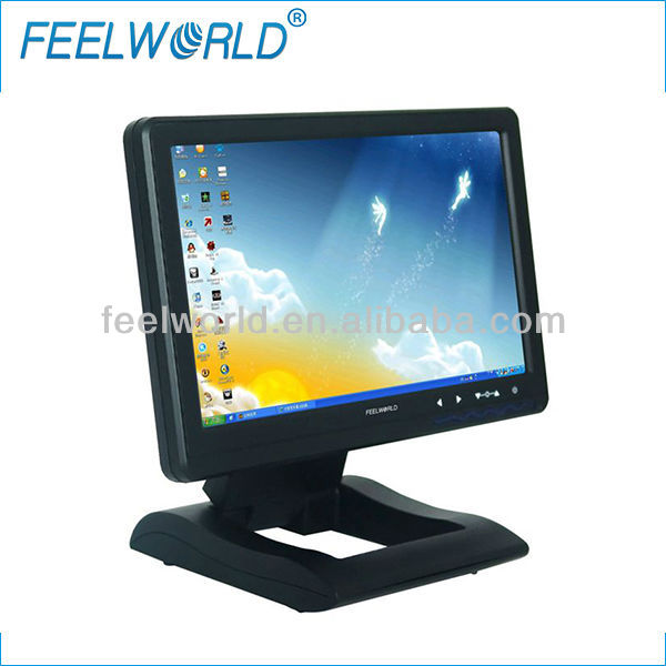 "10.1"" touch screen pc monitor with usb input for entertainment applications"