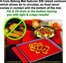 amazon hot vente silicone grill de cuisson mat pyramide tapis - Vaisselle Colore Pas Cher