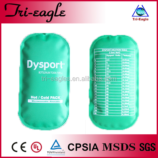 cold pack pvc / nylon and gel inside