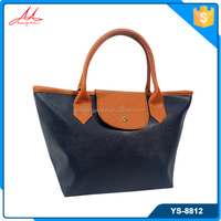 Wholesale classic european style soft pu leather woman handbag
