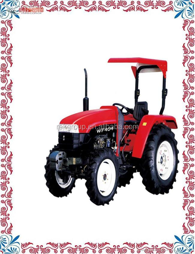 Water proof 50hp 4wd Farm Tractor With Front End Loader And Backhoe for sale with CE approved