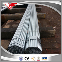 heat insulated chicken farm/house pre galvanized steel pipe for greenhouse frame