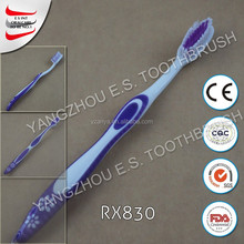 Star Toothbrush Orthodontic With Tongue Cleaner For Adult toothbrush