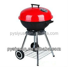 commercial portable bucket charcoal bbq grill with CE for home party
