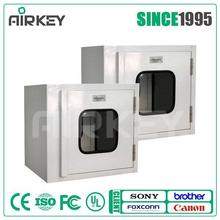 AIRKEY Pass Box Transfer Window with Interlock for Cleanroom