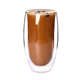 Wholesale hot selling heat resistant double wall glass cup mug
