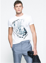 most popular color puff full-size printing t-shirt