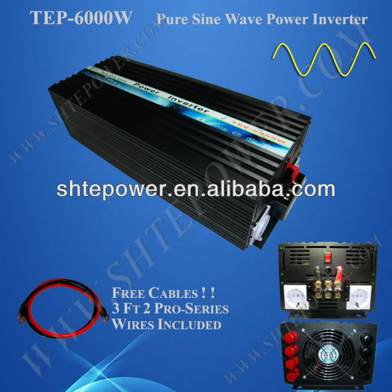 power inverter dc 12v ac 220v 5000w 10000w, pure sine wave inverter 5kw 12v 220v