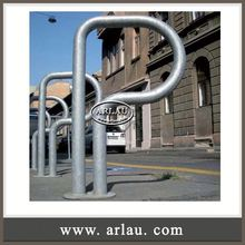 Arlau Bike Standing Display Rack,Hot Dipped Galvanized Bike Parking Rack,Triathlon Event Rack