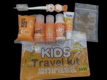 Travel disposable Kid toothbrush Kit for Travel