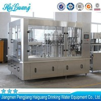 Good after service automatic flavored water filling machine