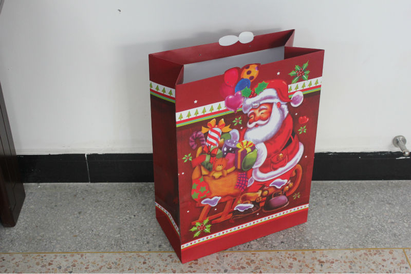 walmart supplier/one dollar store/one doller item/one dollar shop christmas gift paper bags wholesale