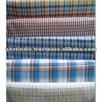 Buy JF-V334 POLYESTER TEXTILE cotton fabric stock lot india ...