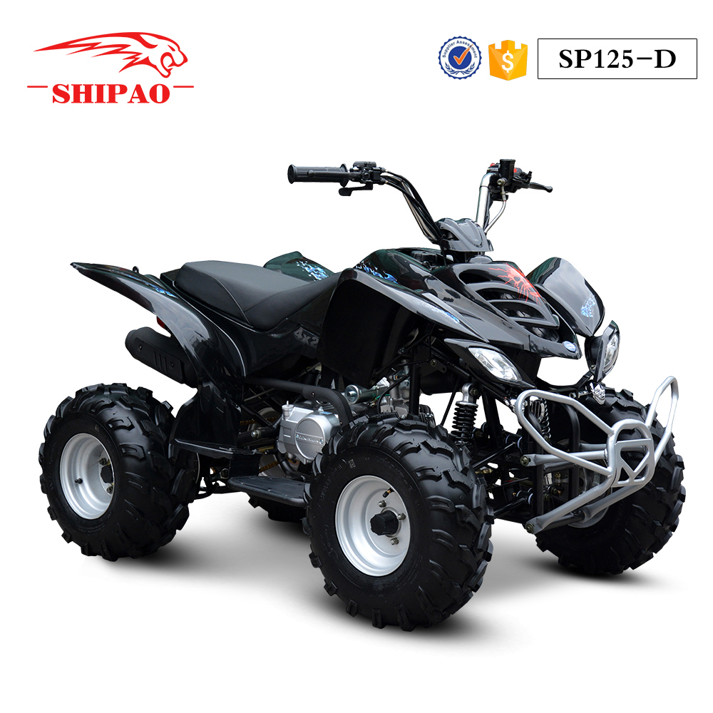 SP125-D Shipao chain drive 2 wheel drive atv