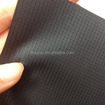 420D mini ripstop fabric PU coated polyester oxford fabric