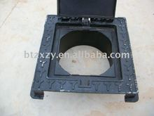 Pig Iron Made Ductile Iron Lockable Hinged Manhole Covers and Accessory [Customers' Drawing]