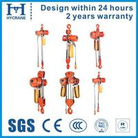 Single speed Pendent control kito electric chain hoist