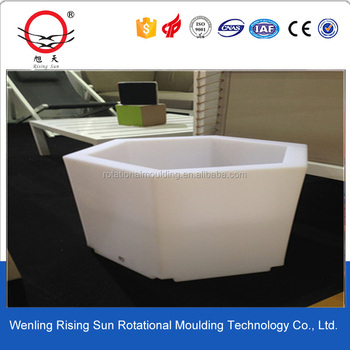 To adopt new technology of flower pot mould