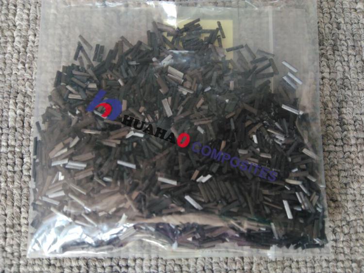 Picada de Fibra de Carbono Fio, de Alta Qualidade 2mm/3mm/6mm boa condutividade de Fibra de Carbono Picado Strand