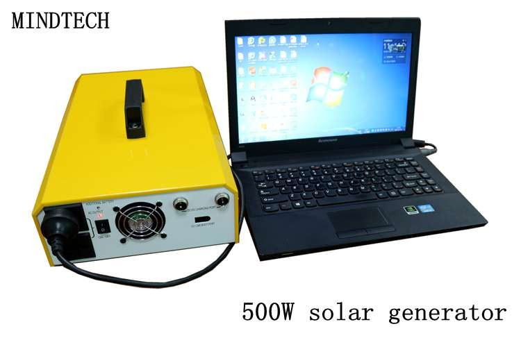 500w off grid solar system portable solar power generator