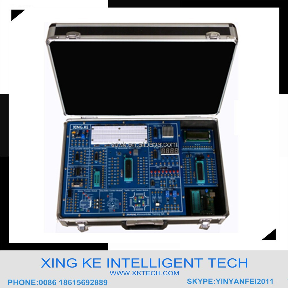 Educational electronics kit Learning Kit Teaching equipment XK-PAM1 Microcontroller Training Kit