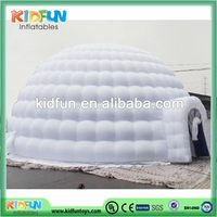 Excellent quality best selling inflatable dome tent with arch door