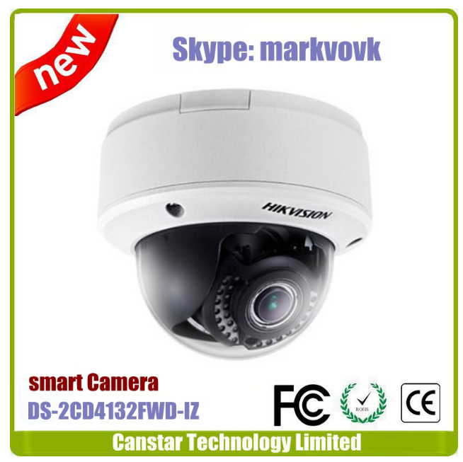 3.0MP PoE dome model Hikvision Smart Face Detection camera DS-2CD4132FWD-IZ