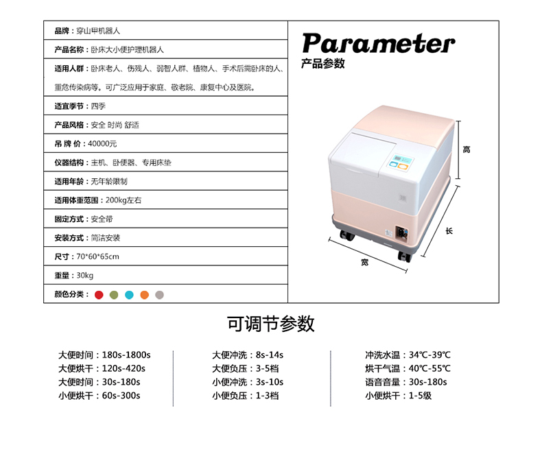 Automatic Intelligent Medical Care Service Robot for Hospital