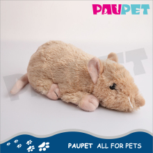 Top sale cheap price hot fashion rat dog plush mouse pet toy