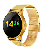 Waterproof smart watch K88H for ios and android heart rate monitor IP54 waterproof