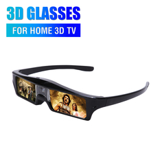 2017 Newest best quality Active Shutter 3D Glasses for projector