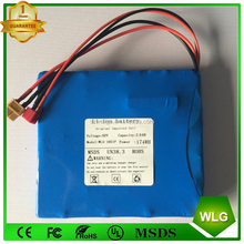 16S1P 174wh 60v 2.9ah 2900mah Rechargeable 18650 li-ion LG battery pack for Electric Scooter Unicycle Self-balancing Hoverboard