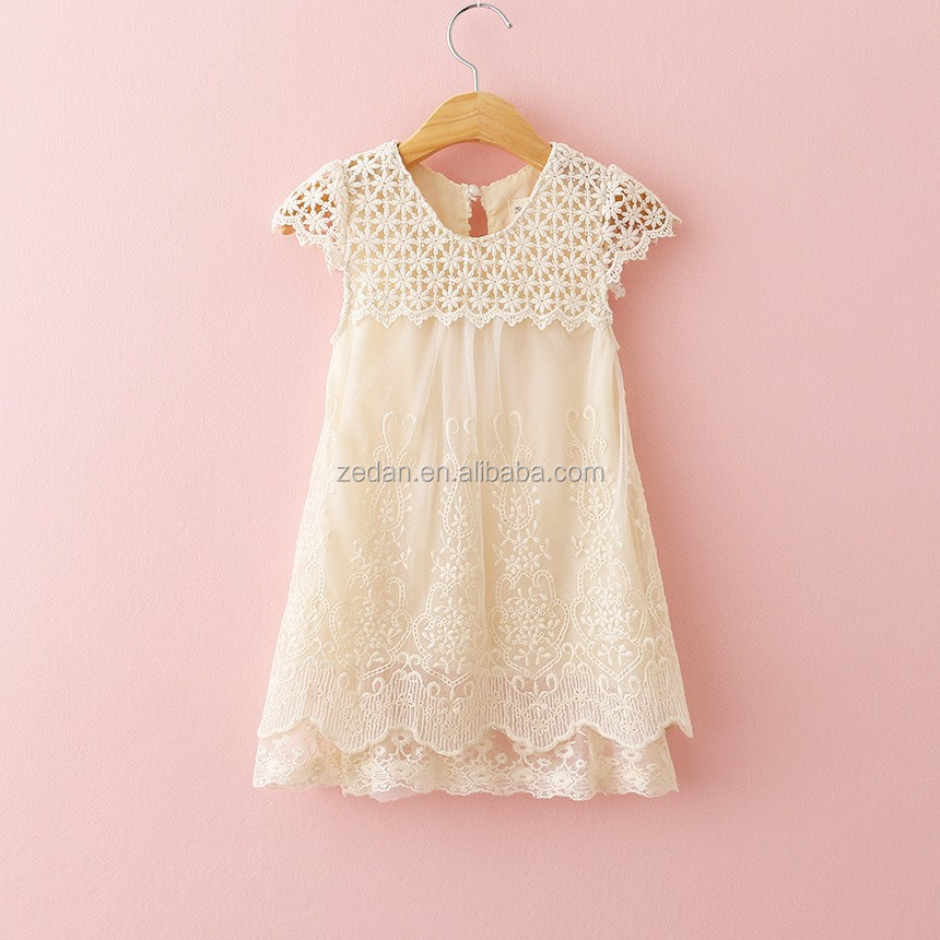 Girls Dress Lace Jersey Children Clothing Kids Clothes Women Dresses for Birthday