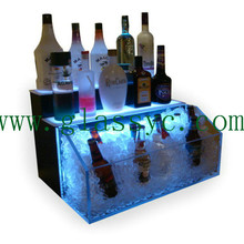exquisite liquor led bottle display case wholesale acrylic wine <strong>rack</strong>