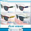 High quality national flag party sunglases ,party glasses flag ,game sunglasses