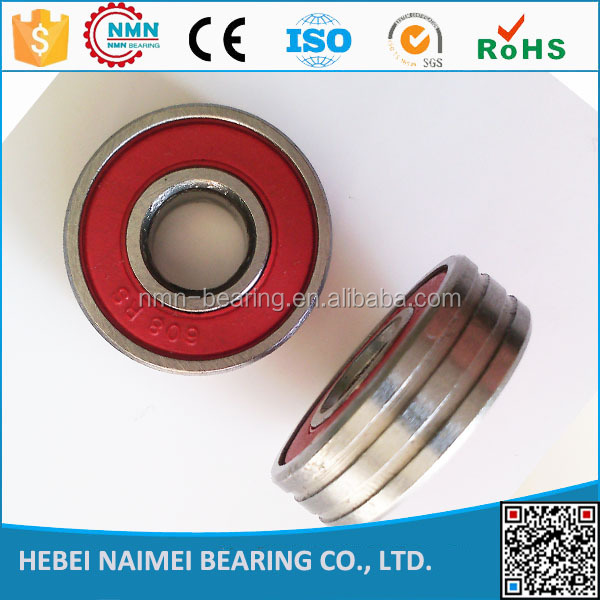 Deep groove ball bearing for bikes, baby carriages 608rs bearing