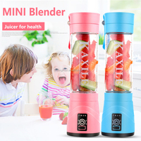 Mini Blender with 7.4V and 2 battery portable juicer 6 colors