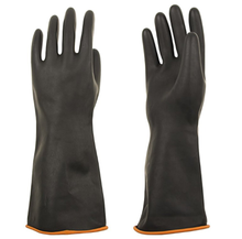 Heavy Duty Latex Gloves Resist Strong Acid Alkali and Oil, 14 inches 18 inches 22 inches