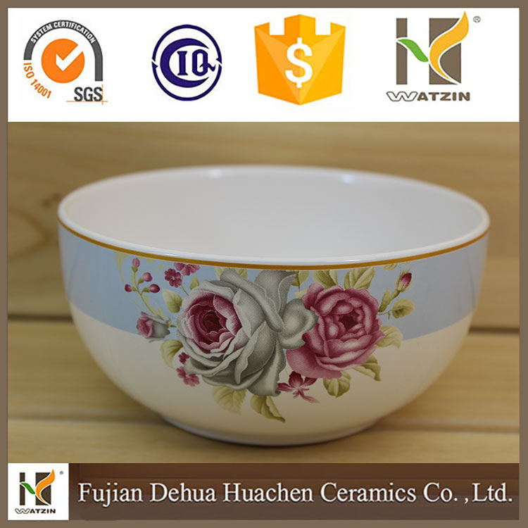 modern decorate ceramic candy bowl,rice bowl