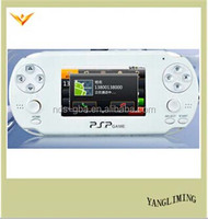 2015 Newest video game console Android OS system handheld games player support WIFI function and skype communication
