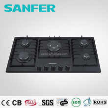 Table TopTempered Glass Gas Cooker/Front Control Gas Hob